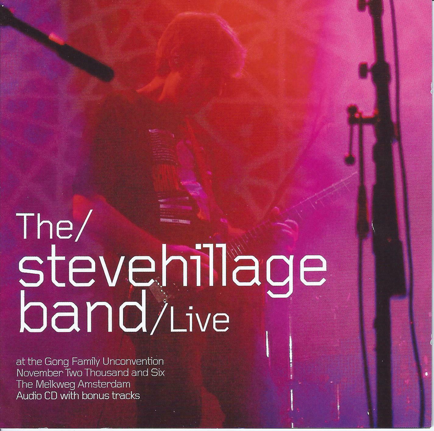 Aural Innovations Blog 187 The Steve Hillage Band Live At